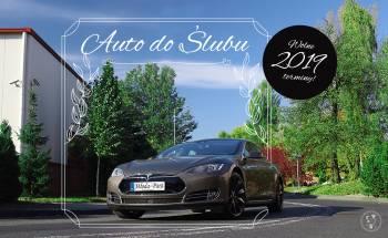 Tesla 70D, Samochód, auto do ślubu, limuzyna Szadek