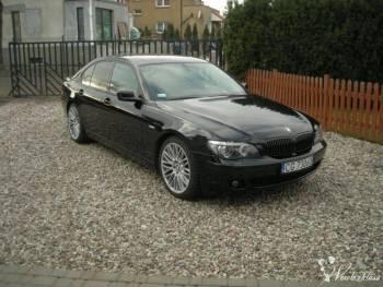 Jedź do ślubu z klasą pięknym BMW serii 7, Samochód, auto do ślubu, limuzyna Ciechocinek
