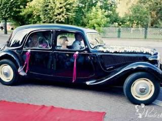 zabytkowe citroeny do ślubu, Samochód, auto do ślubu, limuzyna Kalisz