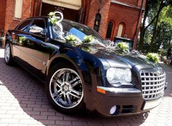 3 x Chrysler 300C - czarna perła i śnieżnobiały, Samochód, auto do ślubu, limuzyna Siemianowice Śląskie