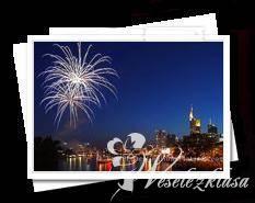 Pokazy fajerwerków na weselach, Lipno - zdjęcie 1