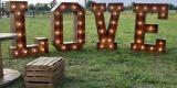 Napis rustykalny Miłość, napis Love rustykalny, Stół SWEET, Stół Love, Legnica - zdjęcie 4
