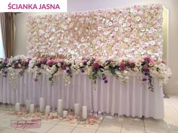 Funny Flower. Dekoracje ślubne i eventowe. Ścianki kwiatowe., Dekoracje ślubne Ostrów Mazowiecka