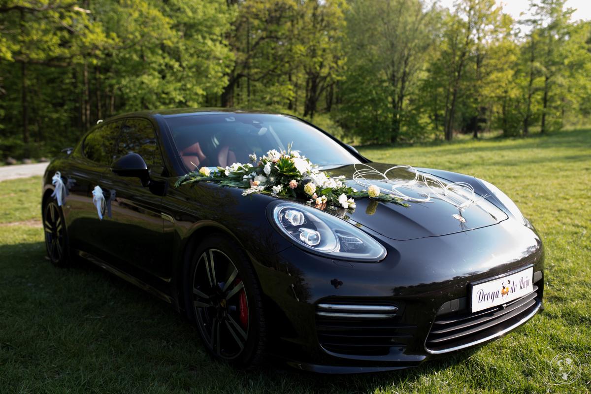 Porsche Panamera GTS do ślubu, Prudnik - zdjęcie 1