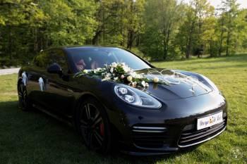Porsche Panamera GTS do ślubu, Samochód, auto do ślubu, limuzyna Kluczbork