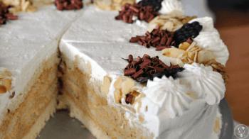 Bab's Pracownia wypieku ciast i tortów. , Tort weselny Piaski