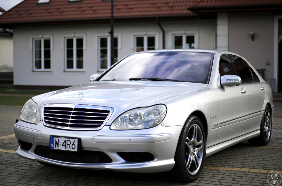 Mercedes S55 AMG long do wynajęcia na imprezy okolicznościowe, Zakrzew - zdjęcie 1