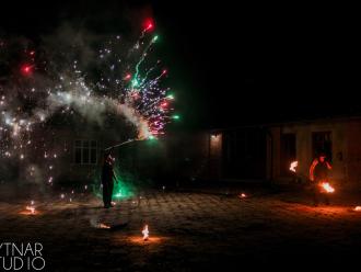 Pokaz Fire show - Fire Nightmares, Teatr ognia Rzeszów