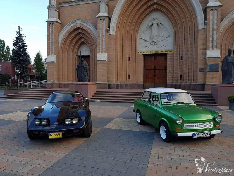 Trabantem & Corvette do ślubu, Radom - zdjęcie 1