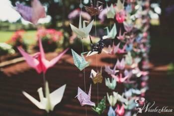 Origami - oryginalne dekoracje na Twój ślub i wese, Dekoracje ślubne Karczew