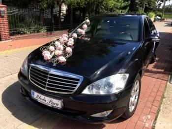 Wynajem samochodu do ślubu Mercedes S-klasa, Samochód, auto do ślubu, limuzyna Pyzdry