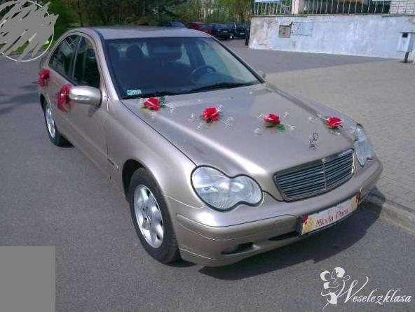 Mercedesem C200K złotym do ślubu, Łódź - zdjęcie 1