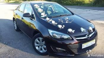 Śliczny Opel Astra Sedan do ślubu 2017 , Samochód, auto do ślubu, limuzyna Kielce