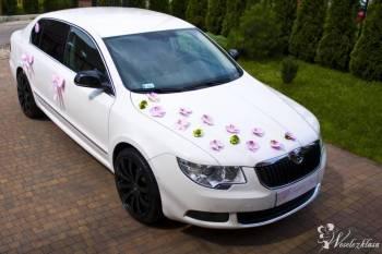 SUPERB - Białe Auto do Ślubu , Samochód, auto do ślubu, limuzyna Katowice
