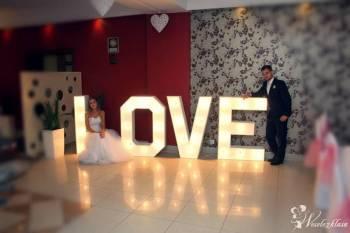 Wielki Świetlny LOVE, Napis Love Kłecko