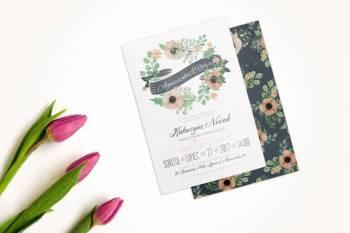 Flymouse zaproszenia ślubne ręcznie wykonane, Zaproszenia ślubne Tarnowskie Góry