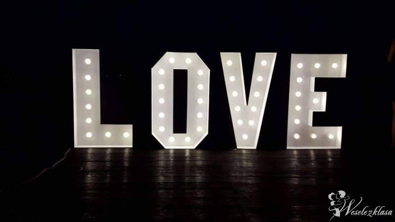 Podświetlany napis LOVE 120 cm x 400 cm retro!, Gorzów Wielkopolski - zdjęcie 1