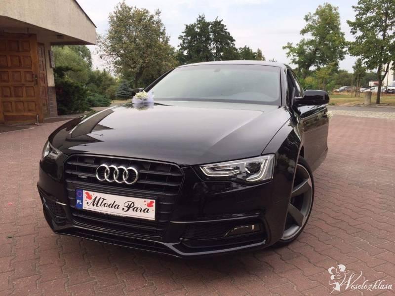 Ekskluzywne sportowe Audi A5 Sportback na wesela, Poznań - zdjęcie 1