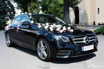Nowy Mercedes E-klasa 2016r. Czarny i Biały AMG, Samochód, auto do ślubu, limuzyna Obrzycko