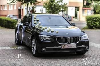 Limuzyna BMW seria 7 Jakub Rymarczyk, Samochód, auto do ślubu, limuzyna Świdwin