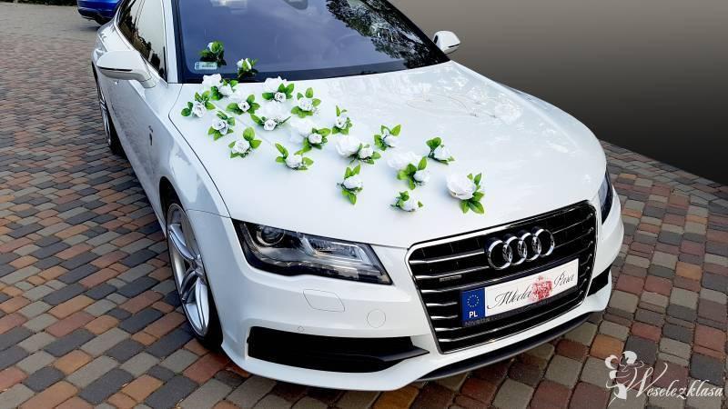 Audi A7 S-line, białe - na ślub i inne okazje, Warszawa - zdjęcie 1