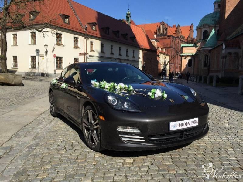 Zawiozę do ślubu PORSCHE PANAMERA, Tomaszów Mazowiecki - zdjęcie 1