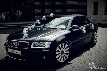 Piękne Audi A8 4.2 quattro do ślubu i nie tylko, Samochód, auto do ślubu, limuzyna Szepietowo