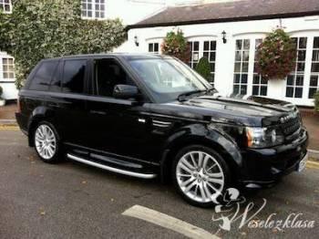 Range Rover Sport do Slubu, Samochód, auto do ślubu, limuzyna Toszek