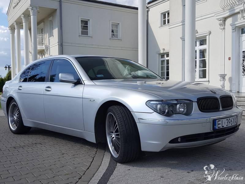 BMW 745i Long do ślubu! LICENCJA, Łódź - zdjęcie 1