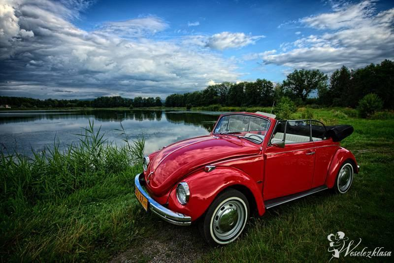 Garbus Cabrio do ślubu, zabytkowy kabriolet, Skoczów - zdjęcie 1