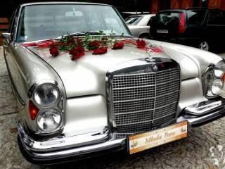 Auto do ślubu zabytkowy Mercedes,  Szczecin