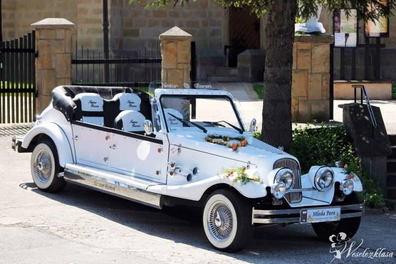 Zabytkowy samochody do ślubu Auto na wesele Kabriolet Nestor Baron, Siedlce - zdjęcie 1