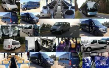 wynajem busów i autobusów, przewóz gości weselnych, Wynajem busów Pniewy