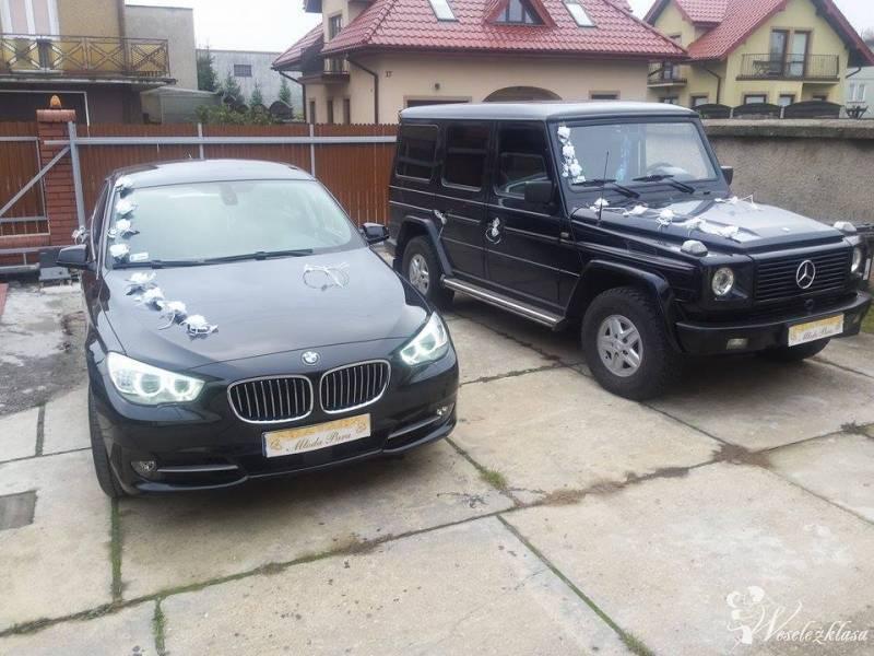 Mercedes G, BMW GT, auto do ślubu, na wesele, itp, Częstochowa - zdjęcie 1