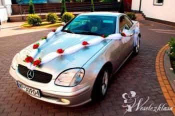 Auto do ślubu, Mercedes Cabrio Wynajem, Samochód, auto do ślubu, limuzyna Biskupiec