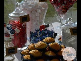 Candy bar / słodki stół Sweet Dreams, Słodki kącik na weselu Ełk