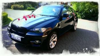 *CZARNE* BMW X6 E71 TANIO! Limuzyna do ślubu na wesele, Samochód, auto do ślubu, limuzyna Warszawa