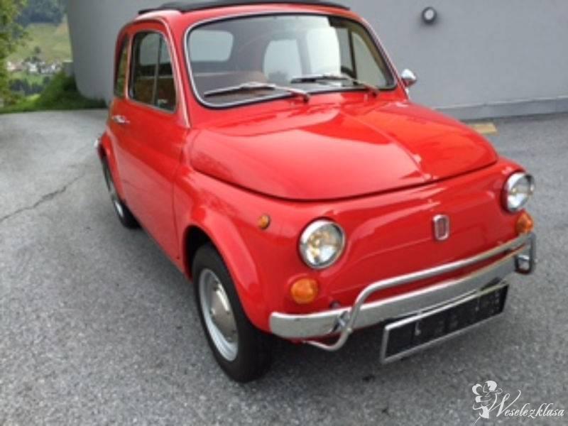Fiat 500 Klasyczny Samochód do ślubu, Poznań - zdjęcie 1