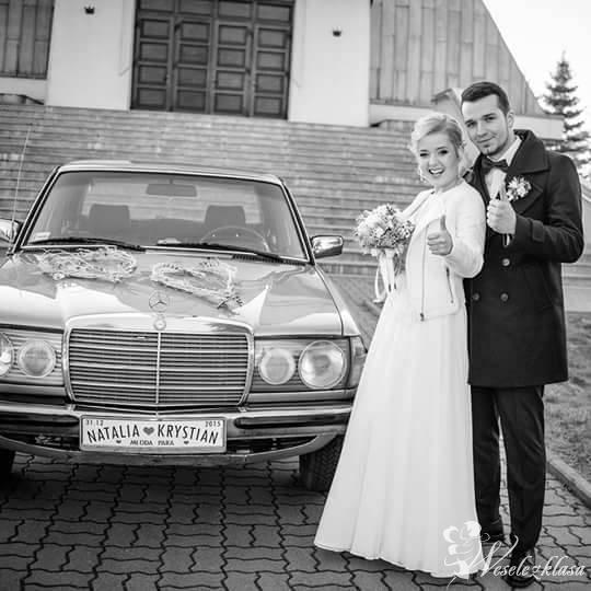Mercedes w123 retro, klasyk, ślub, tanio, Bochnia - zdjęcie 1