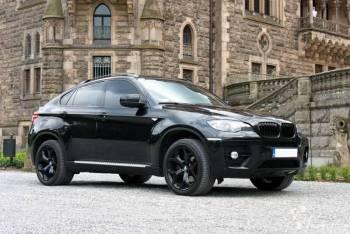 BMW X6 BLACK EDITION, Samochód, auto do ślubu, limuzyna Kluczbork