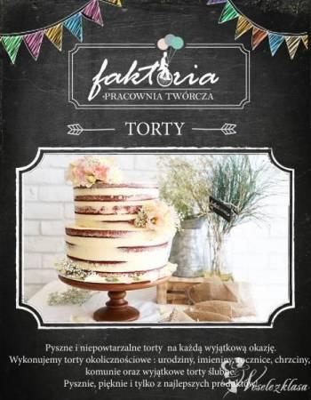 Wyjątkowe torty okolicznościowe, Tort weselny Dobrzany