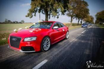 Wspaniałe Audi S5, Samochód, auto do ślubu, limuzyna Pniewy