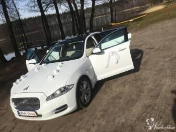 Biały JAGUAR XJ  510 KM, Samochód, auto do ślubu, limuzyna Kępno