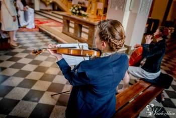 Skrzypce na ślubie/weselu - Quattro Corde Art Group, Oprawa muzyczna ślubu Brzeszcze