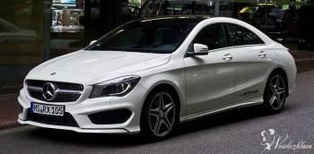 Mercedes CLA AMG Biały, Samochód, auto do ślubu, limuzyna Wojcieszów