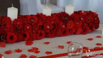 Dekoracje ślubne, weselne, kościoły, podświetlany napis LOVE,, Dekoracje ślubne Skarszewy