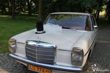 Auto/samochód do ślubu. Mercedes W 115 z 1971r, Samochód, auto do ślubu, limuzyna Lublin