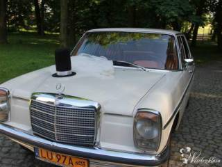 Auto/samochód do ślubu. Mercedes W 115 z 1971r,  Lublin