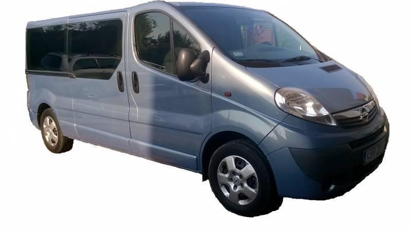Opel Vivaro 9 os transfery, imprezy okolicznościowe, śluby, Brzesko - zdjęcie 1
