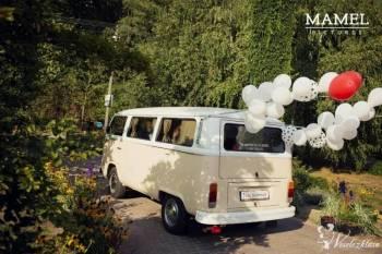 Zabytkowy Ogórek do Ślubu VW - Volkswagen T2 Bulik, Samochód, auto do ślubu, limuzyna Józefów
